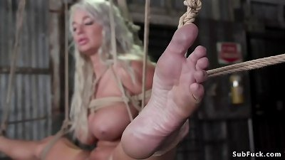 Busty Milf stripper dp pounded