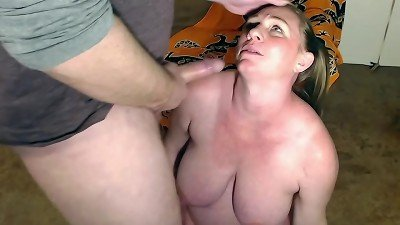 creampie light-haired After rough fuck on cam 35 Weeks yam-sized belly milf in ponytails - BunnieAndTheDude