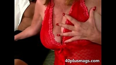 insatiable senior wife taking fresh meat