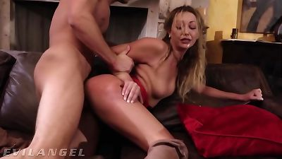 Psycho mistress shows Result Of ramming Your man rod In insatiable - EvilAngel