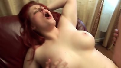 lush red-haired ass-fuck homefuck