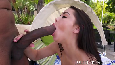 Jules Jordan - Alina Lopez is Tongue Tied When She Sees the Size of Dredd's BBC